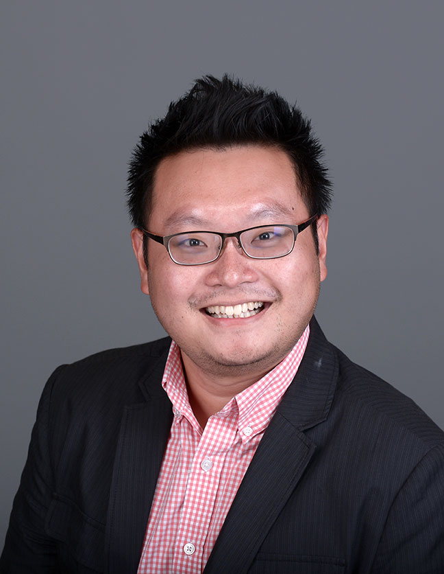 A photo of Dr. Wayne Tan