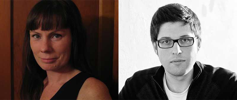 JRVWS to Feature Angela Pelster and David James Poissant on Oct. 15