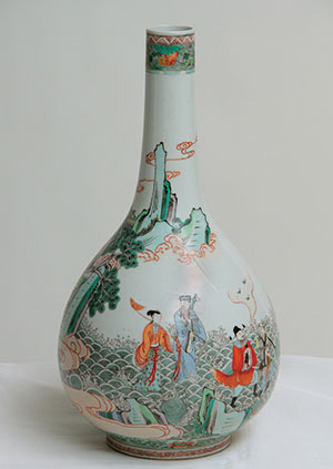 Vase with Eight Daoist Immortals