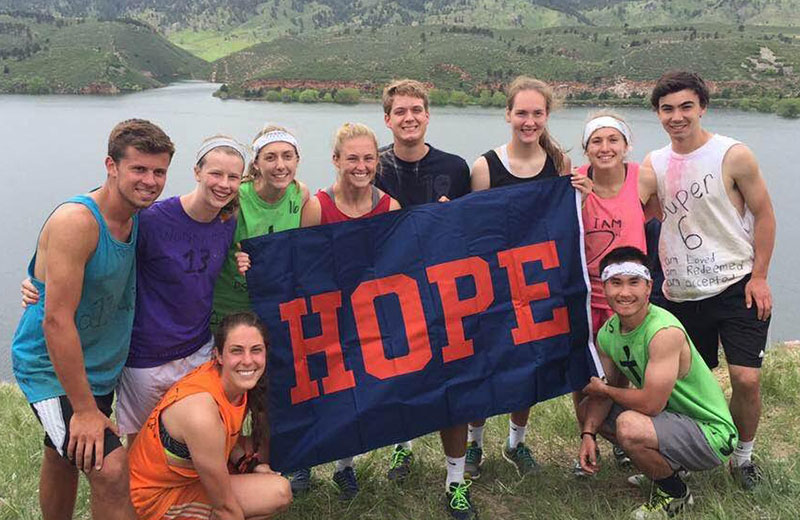 Hope Student-Athletes Enjoy Rewarding Challenges At Athletics In Action Camp