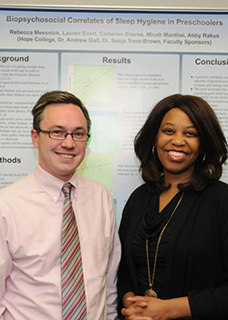 Andrew Gall and Sonja Trent-Brown