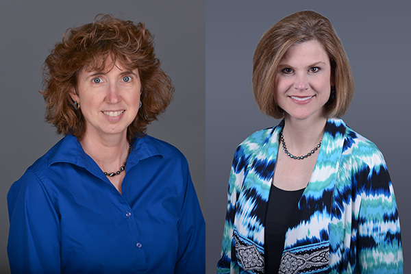 Dr Mary Inman and Dr. Charlotte vanOyen Witvliet