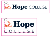 hope college logo clear space