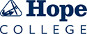 Hope College - All blue vertical logo
