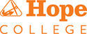 Hope College - All orange vertical logo