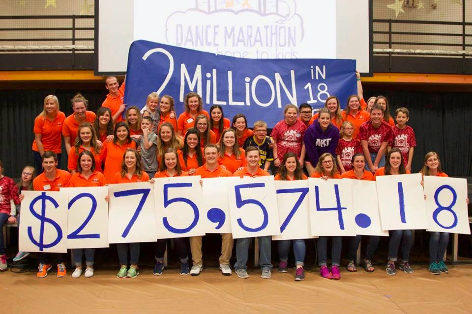 dance marathon total earned