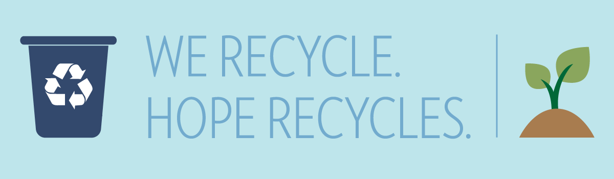 Hope Recycles Banner
