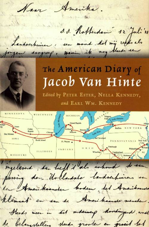 The American Diary of Jacob Van Hinte cover